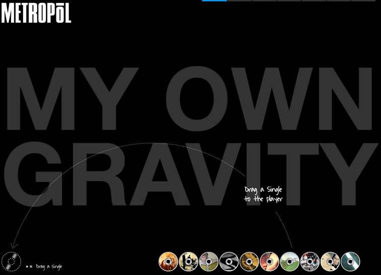 Metropol Band is an inspiring HTML5 Website