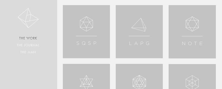 inspiration Neue Yorke example modern minimalist web design